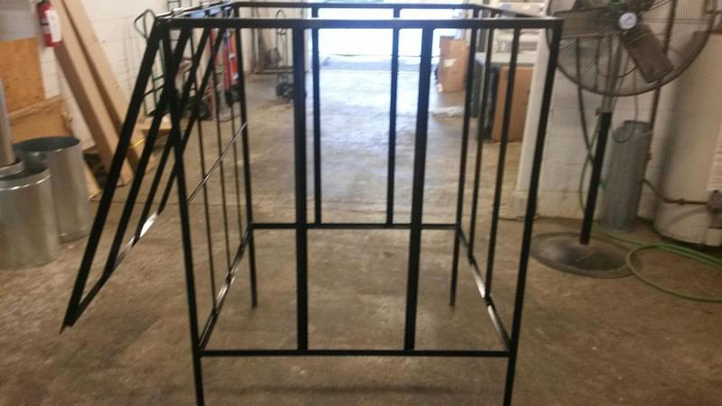 Custom Built Air Conditioner Cage